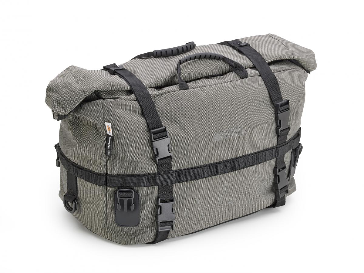lavabo el último papel  Kappa K-RA318 Tail Bag 32 Litres - Grey Roll Bag Waterproof   eBay