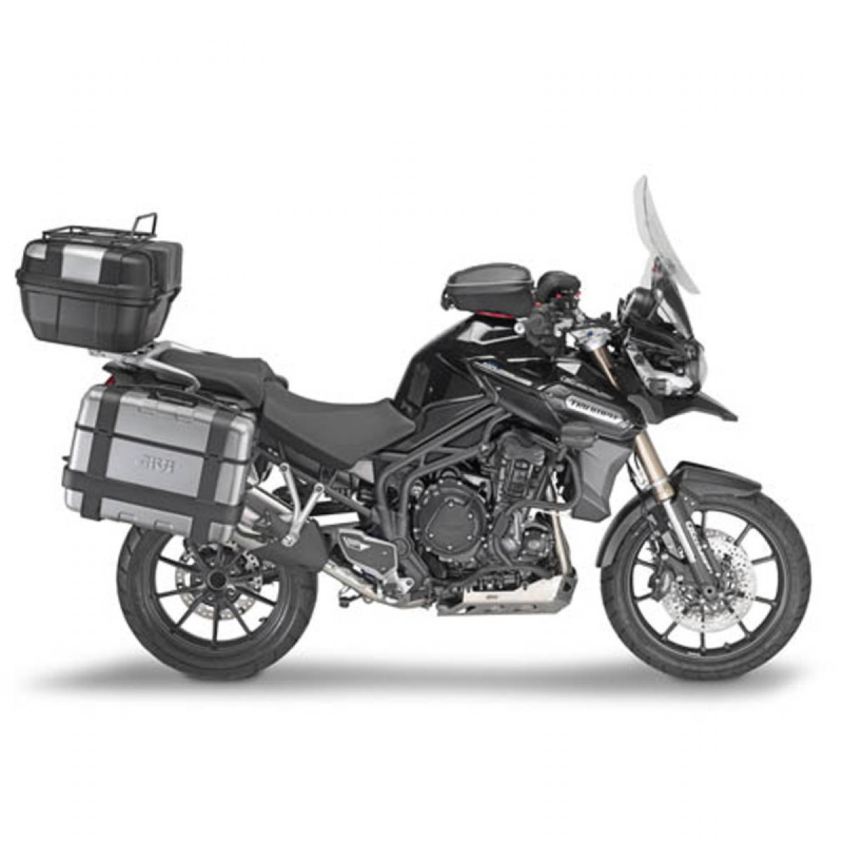 givi sra6403 aluminium rear monokey rack for triumph tiger. Black Bedroom Furniture Sets. Home Design Ideas