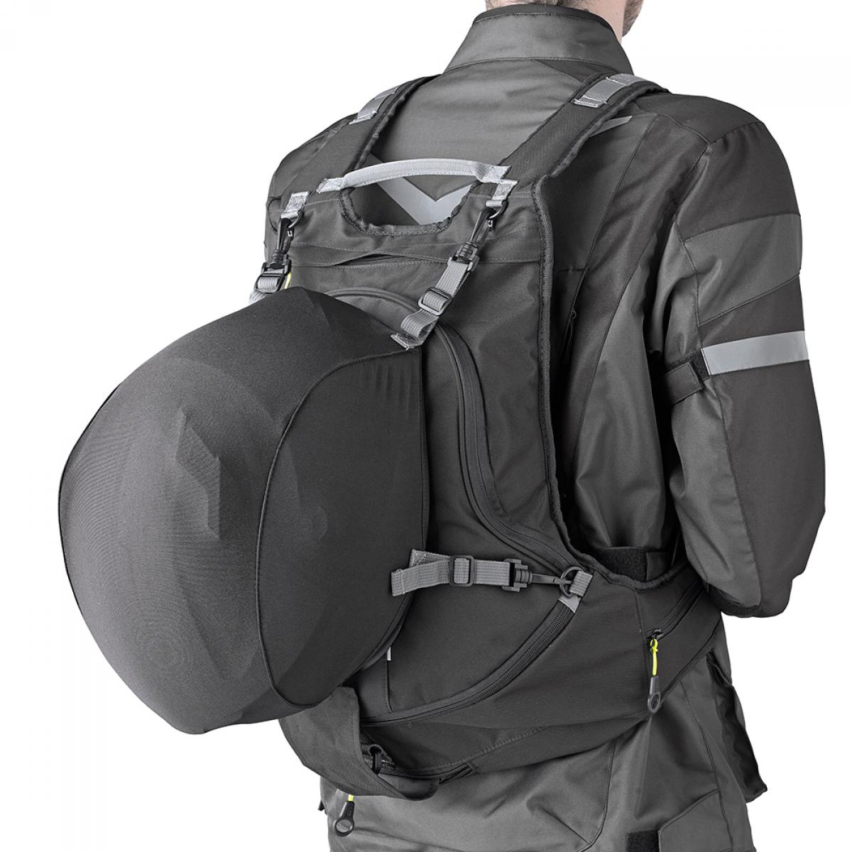 Givi EA104B Expandable Motorcycle Rucksack Helmet Holder ...
