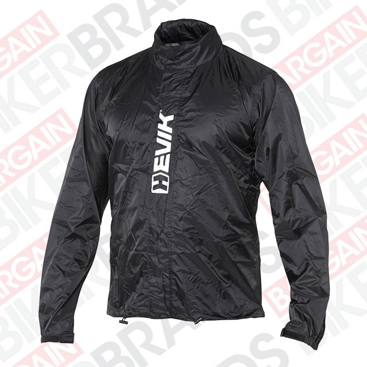 53ff4314974f Hevik HRJ106 UltraLight Waterproof Motorcycle Over Jacket Rain Jacket -  Black