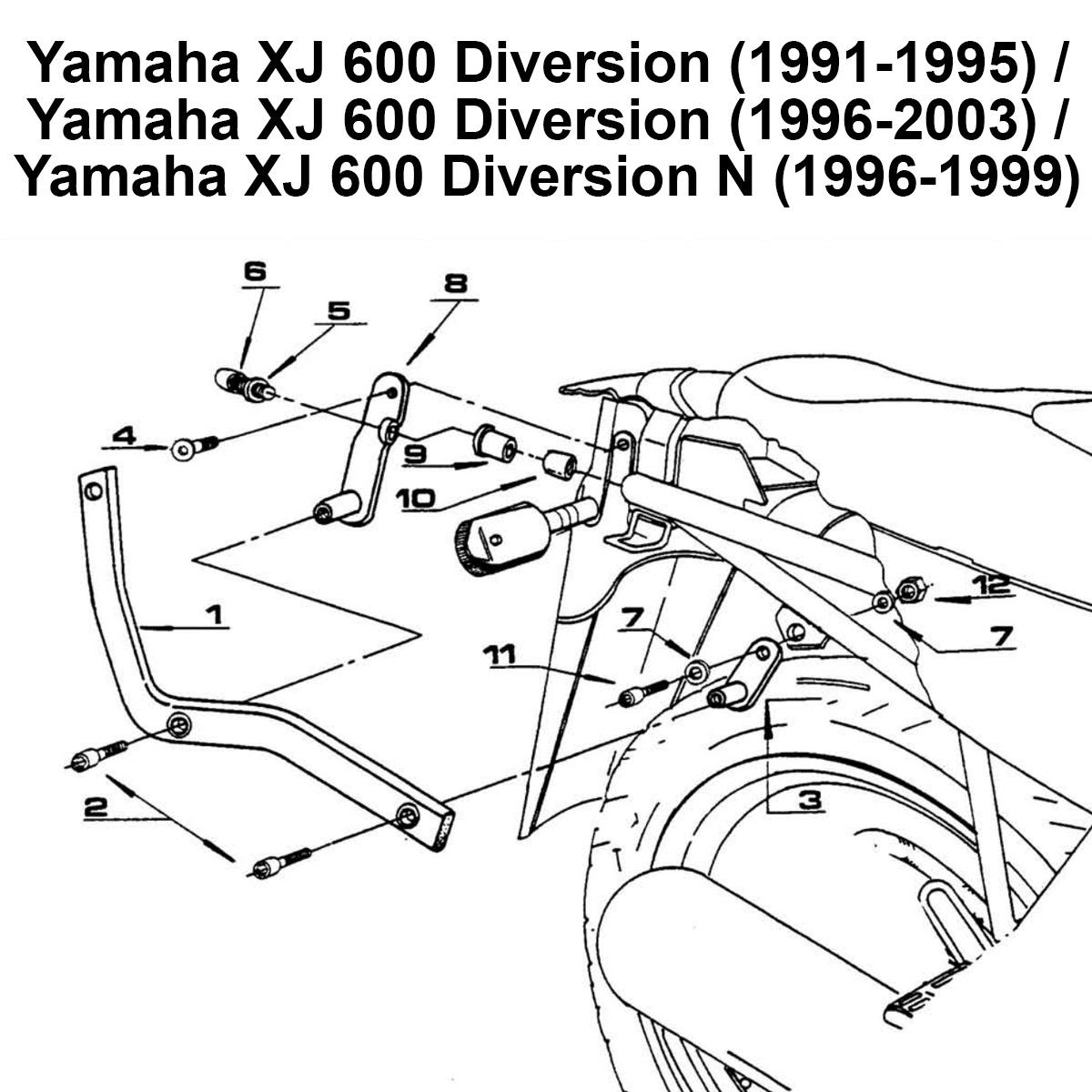kappa k3250 rear top box rack